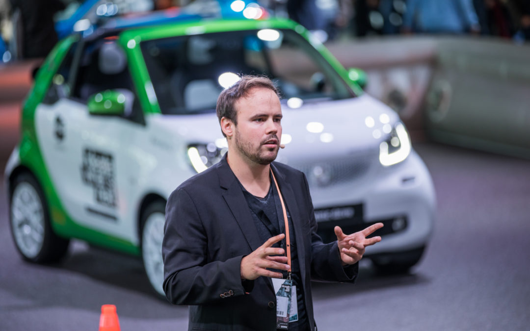 Tretbox a finalist at the Urban Pioneers competition by smart